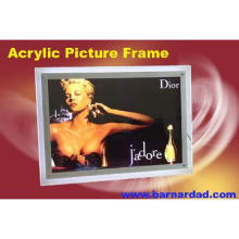 Acrylic led light box photo picture frame