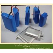 Lithium Polymer Battery Pack 3.7V 2700mAh 606168 for Power Banks