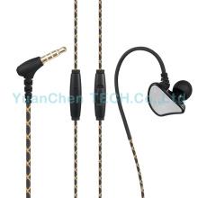 Auriculares con cancelación de ruido de auriculares de 3.5 mm para computadora de teléfono móvil