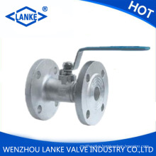 One Piece Ss304 Flanged Ball Valve (Q41F)