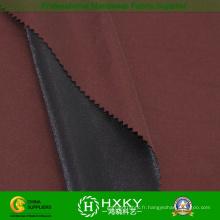 100% Polyetser avec tissu composé de double-couche pour le manteau de trench