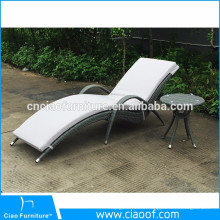 New European Classical Style Sun Lounger With Cushion
