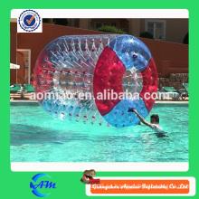 Rodillo inflable de la alta calidad agradable del agua con color rojo y azul para la venta
