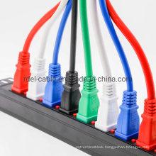 8-Way 0u Vertical IEC C13 Locking PDU with 16A Commando Plugs
