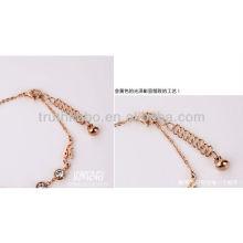 Jóias de pulseiras de aço inoxidável de moda nova 2013 com zircão