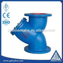 cast iron water pipe strainer