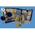 sortie porte disjoncteur sous vide pour azote gaz titulaire A017