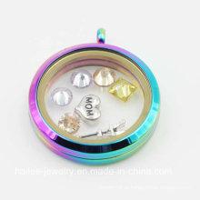Personalizado em aço inoxidável moda jóias Locket Pingente