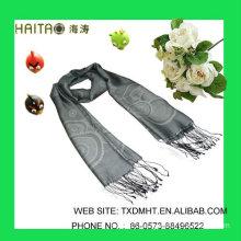 LT Grey Jaquard scarves for ladies