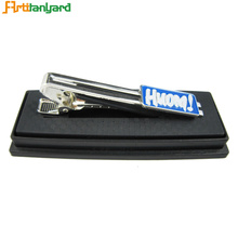 High reputation for Necktie Knots Customized Metal Tie Clip With Gold Plating export to Spain Factories