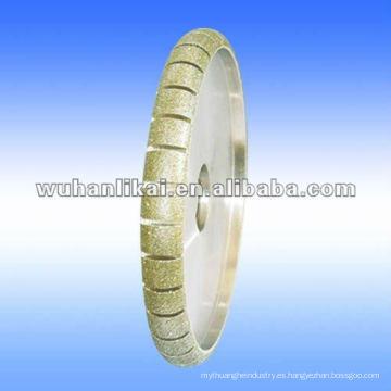 rueda de afilar bullnose diamante