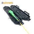 Splicing-Schutzbox für Glasfaserkabel 1 Eingang 1 Ausgang