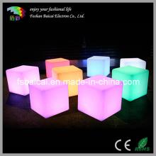 LED Cube Beleuchtung Stuhl