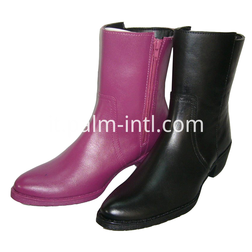 100% Waterproof PVC Horse Riding Half Boots
