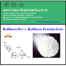 La mejor calidad caliente de la venta de la fabricación de la fuente directamente Raffinose / D (+) - Pentahydrate del rinoceronte