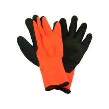 7g Acryl Liner Handschuh mit Latex Coating Schaum fertig