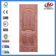 JHK-007 Natural Buingga Door Skin Round Top Panel