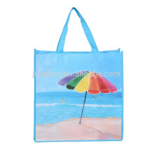 Custom Printed Logo Recycle Foldable non wooven bags