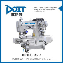 DT 600-35BB auto sewing machine pneumatic auto trimmer interlock cloth sewing machine