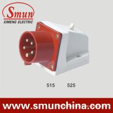 Wall Mounting Plug 5pin 16/32A 400V Implement Plug