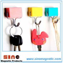 Ganchos magnéticos cuadrados de la cocina / del refrigerador
