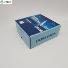 Custom Color Printed Corrugated Box Untuk Produk Elektronik