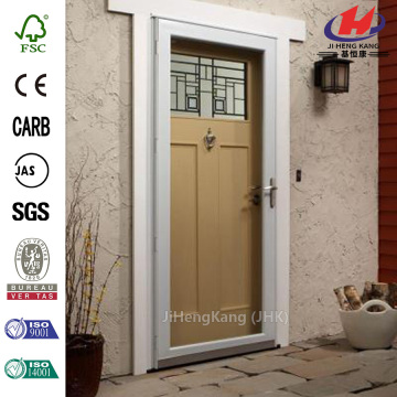 White Full View Storm Door