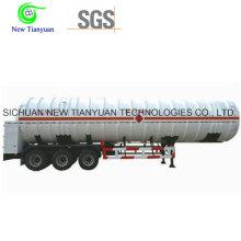 Semirremolque Tanque Tanque ISO de 40 pies de la Serie T19