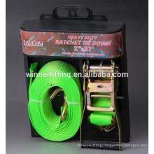 Cheap sale Binding 50mm Ratchet straps Plastic Handle