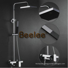 Luxury Wall Mounted Bathroom Shower Faucet Set (Q12010)
