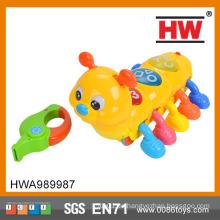 Lustige Baby Spielzeug Sound Kontrolle Tier Spielzeug Lovely Wurm Spielzeug