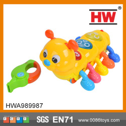 plastic baby worm toy baby animal toy