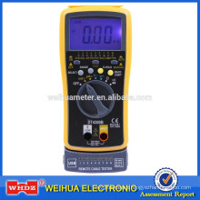 Digital multimeter with network test multimeter