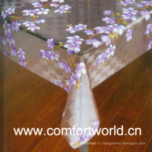 Tissus de table en PVC (SHPV01753)
