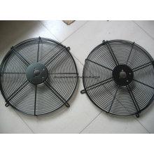 Soem PVC beschichtete / Verchromungs-Metalldraht-industrieller Fan-Schutz