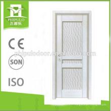 Porte mélaminée intérieure de style populaire HDF fabriquée en Chine