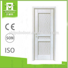 Популярный стиль HDF интерьер меламиновая дверь сделано в Китае