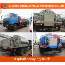 4X2 Asphalt Spraying Truck Liquid Heated Bitumen Asphalt Transport Tank Truck