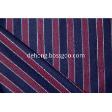 worsted cashmere and wool blended vertical stripe fabric.