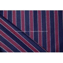 tela de rayas verticales mezclada de lana y cachemira peinada.