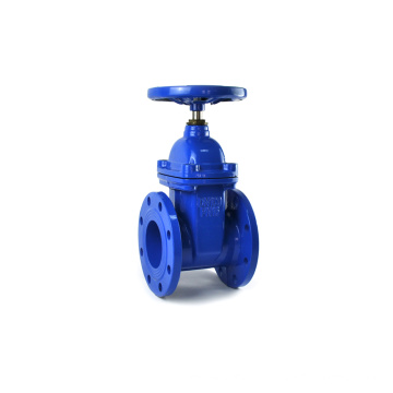 JKTL ductile iron resilient seat socket end gate valve for pipe