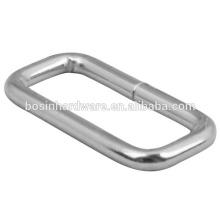 Anel de alta qualidade de metal retângulo de moda
