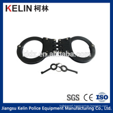 Hot Sale Police Black Carbon steel & Nickel plated Handcuff