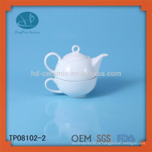 Chá da porcelana para um jogo, jogo de chá da promoção, jogo cerâmico do chá cerâmico para a família, chá para um
