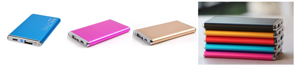 Metal Lithium Polymer Battery Power Bank