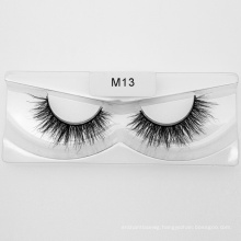 Your Own Brand Mink Fur Strip Lashes 3D Private Label Mink Eyelashes