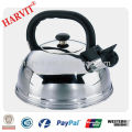 3L / 4L / 5L Stainless Steel Half Ball Shape Whistling Kettle
