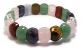 Crystal Bracelet, Semi Precious Stone Bracelet, Fashion Bracelet, Jewelry Bangle