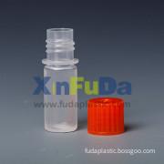 Plastic reagent bottle with screw cap