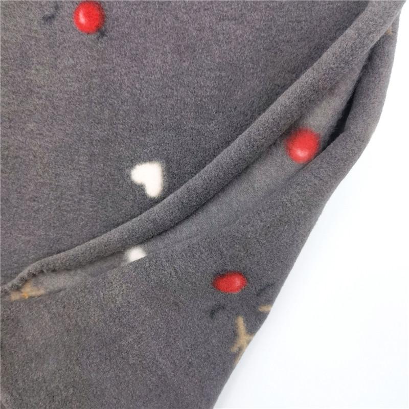 75d Polyester Spandex Fleece Fabric